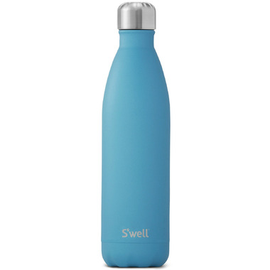 S\'well The Stone Collection Stainless Steel Water Bottle Blue Fluorite