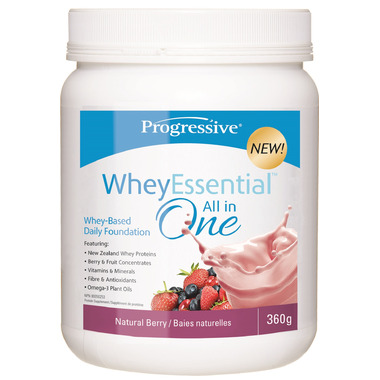 Buy Progressive Wheyessential Natural Berry At Well Ca