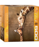 Eurographics Giraffe Mother's Kiss Puzzle