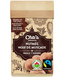 Cha's Organics Nutmeg Whole