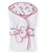 Aden + Anais Baby Bath Wrap Princess Posie