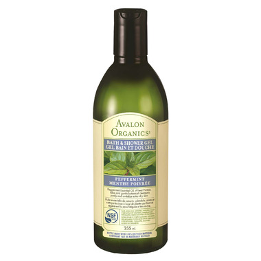 Avalon Organics Peppermint Bath & Shower Gel