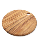 Ironwood Gourmet Round Everyday Acacia Wood Cutting Board