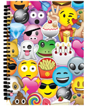 Iscream Emoji Collage 3D Small Journal