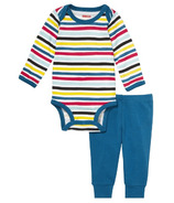 Skip Hop Baby Says Long Sleeve Bodysuit & Pants Stripes