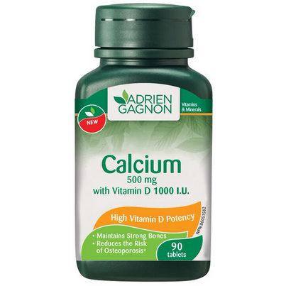 Calcium with vitamin d 500mg
