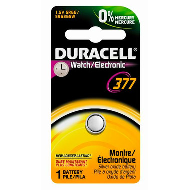 Duracell 377 1.5V Watch Battery