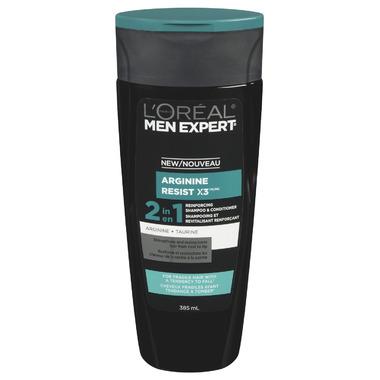 L\'Oreal Men Expert Arginine Resist X3 2 in 1 Shampoo