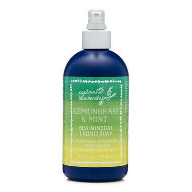 Captain Blankenship Lemongrass and Mint Liquid Hand Soap