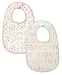 Petit Pehr Alphabet & Multi Dots Bib Set