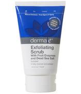Derma E Exfoliating Scrub with Fruit Enzymes & Dead Sea Salt