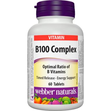 Webber Naturals Timed Release B100 Complex