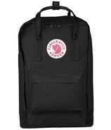 Fjallraven Kanken Laptop 15 Inch Backpack Black