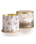 Illume Woodfire Demi Tin Candle