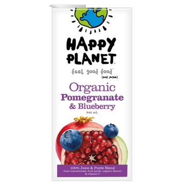Happy Planet Organic Health Fruit Juice