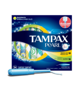 Tampax Pearl Unscented Tampons Duo-pack