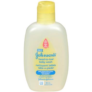 Johnson\'s Baby Head-to-Toe Baby Wash Travel Size
