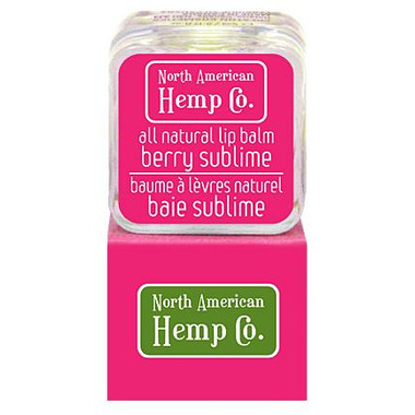 North American Hemp Co. Berry Sublime Lip Balm
