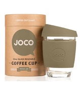 JOCO Glass Reusable Coffee Cup in Olive