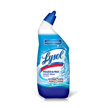 Lysol Power & Free Toilet Bowl Cleaner