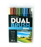 Tombow Landscape Palette Dual Brush Pen Set