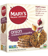 Mary's Organic Crackers Onion Crackers
