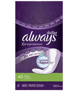 Always Dailies Xtra Protection Panty Liners