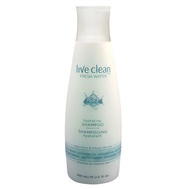 Live Clean Fresh Water Moisturizing Shampoo Limited Edition Bonus Size