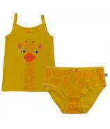 Zoocchini Organic Girls Giraffe Camisole & Underwear Set