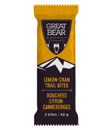 Great Bear Lemon Cranberry Trail Bites