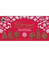 Divine Chocolates Milk Chocolate Christmas Shapes