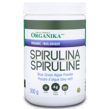 Organika Organic Spirulina Blue-Green Algae Powder