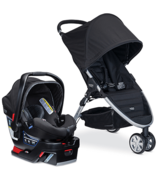 Britax B-Agile 3 & B-Safe 35 Travel System Domino