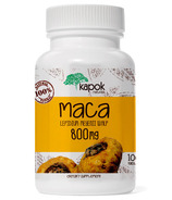 Kapok Naturals Maca Supplement Peruvian Maca Tablets