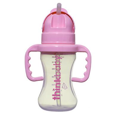 Thinkbaby Straw Bottle Pink