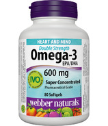 Webber Naturals Omega-3 Super Concentrate Softgels