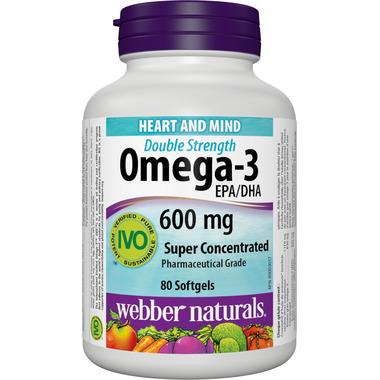Webber Naturals Omega-3 Super Concentrate Softgels