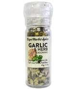 Cape Herb & Spice Table Top Grinder Garlic and Herb Seasoning