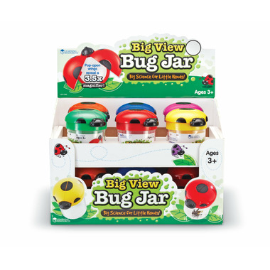 Learning Resources Big View Bug Jars