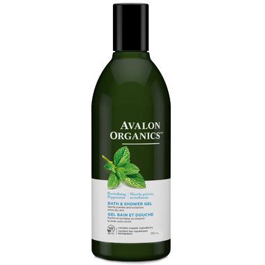 Avalon Organics Peppermint Bath & Shower Gel