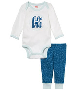 Skip Hop Baby Says Long Sleeve Bodysuit & Pants Hi