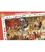 Djeco Observation Puzzle Horseriding