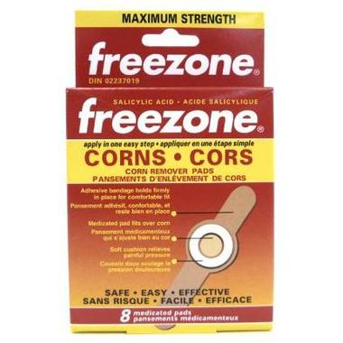 Freezone Corn Remover Pads