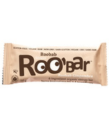 Roobar Baobab Ginger Organic Energy Bar