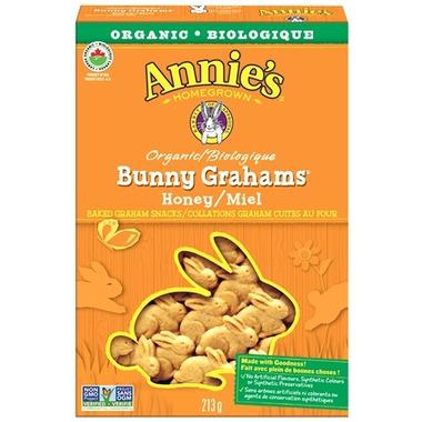 Annie\'s Homegrown Organic Honey Bunny Grahams