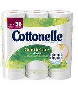 Cottonelle Gentle Care Double Roll Toilet Paper