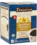 Teeccino Dandelion Turmeric Chicory Herbal Tea