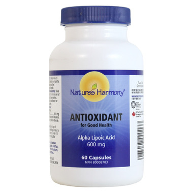 Nature\'s Harmony Antioxidant Alpha Lipoic Acid Capsules
