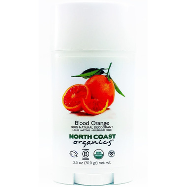 North Coast Organics Blood Orange Organic Deodorant