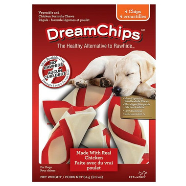 DreamBone DreamChips Vegetable and Chicken